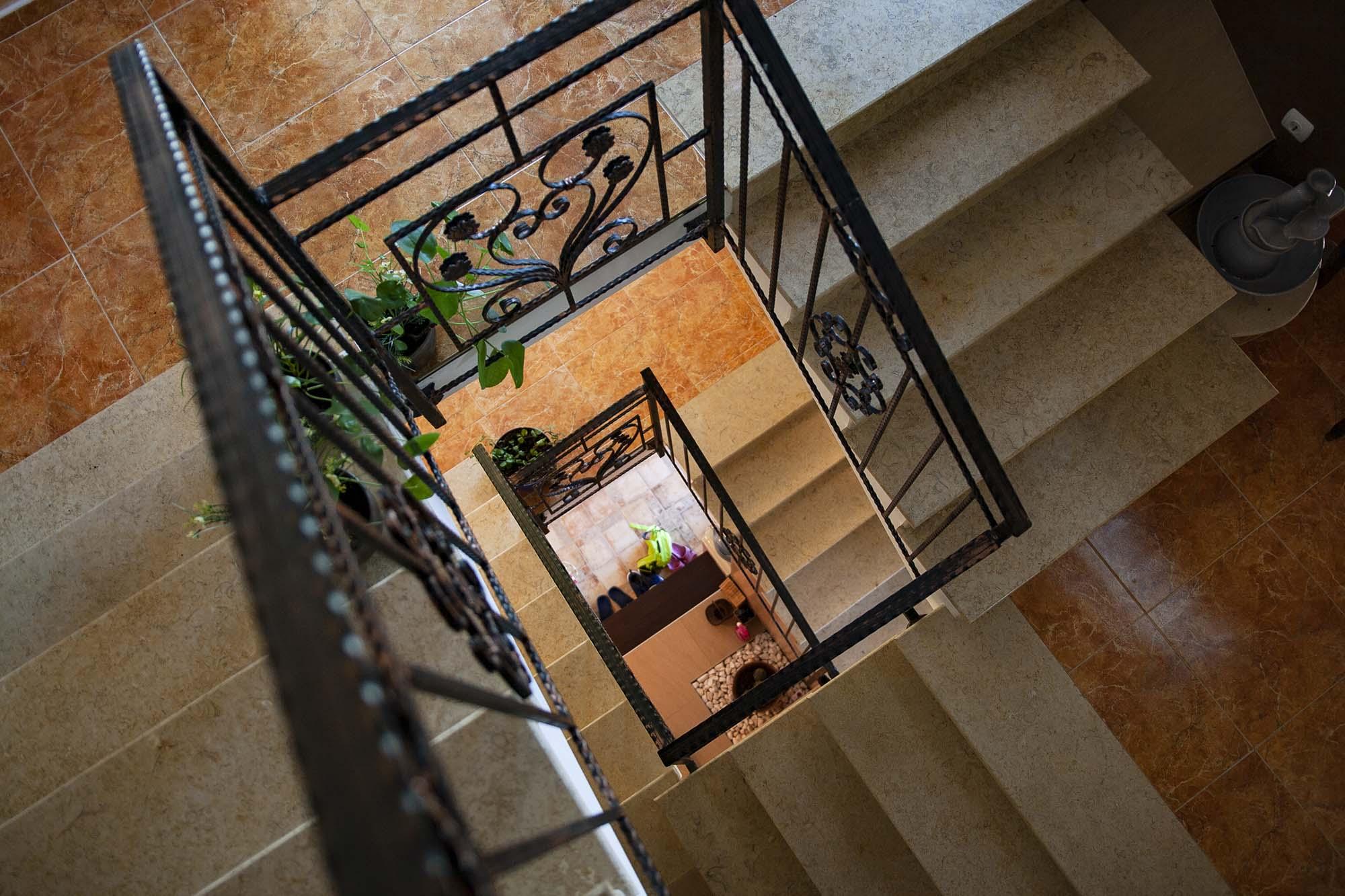 Стълбище 1 във вила Дияна